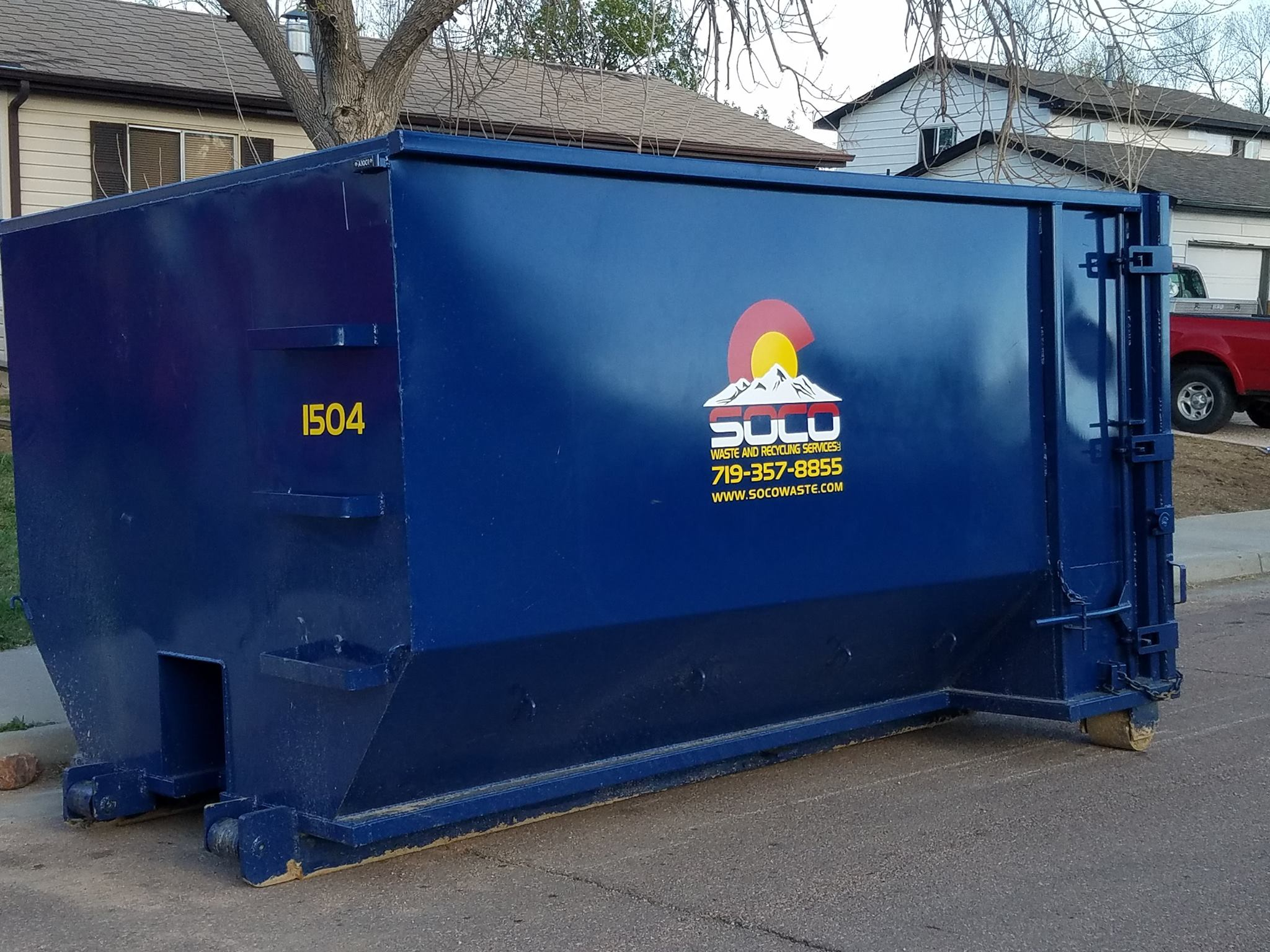 Roll Off Dumpster Service