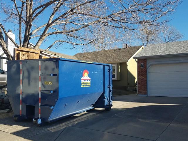 15 Yard Roll Off Dumpster Rental Cost In Colorado Springs