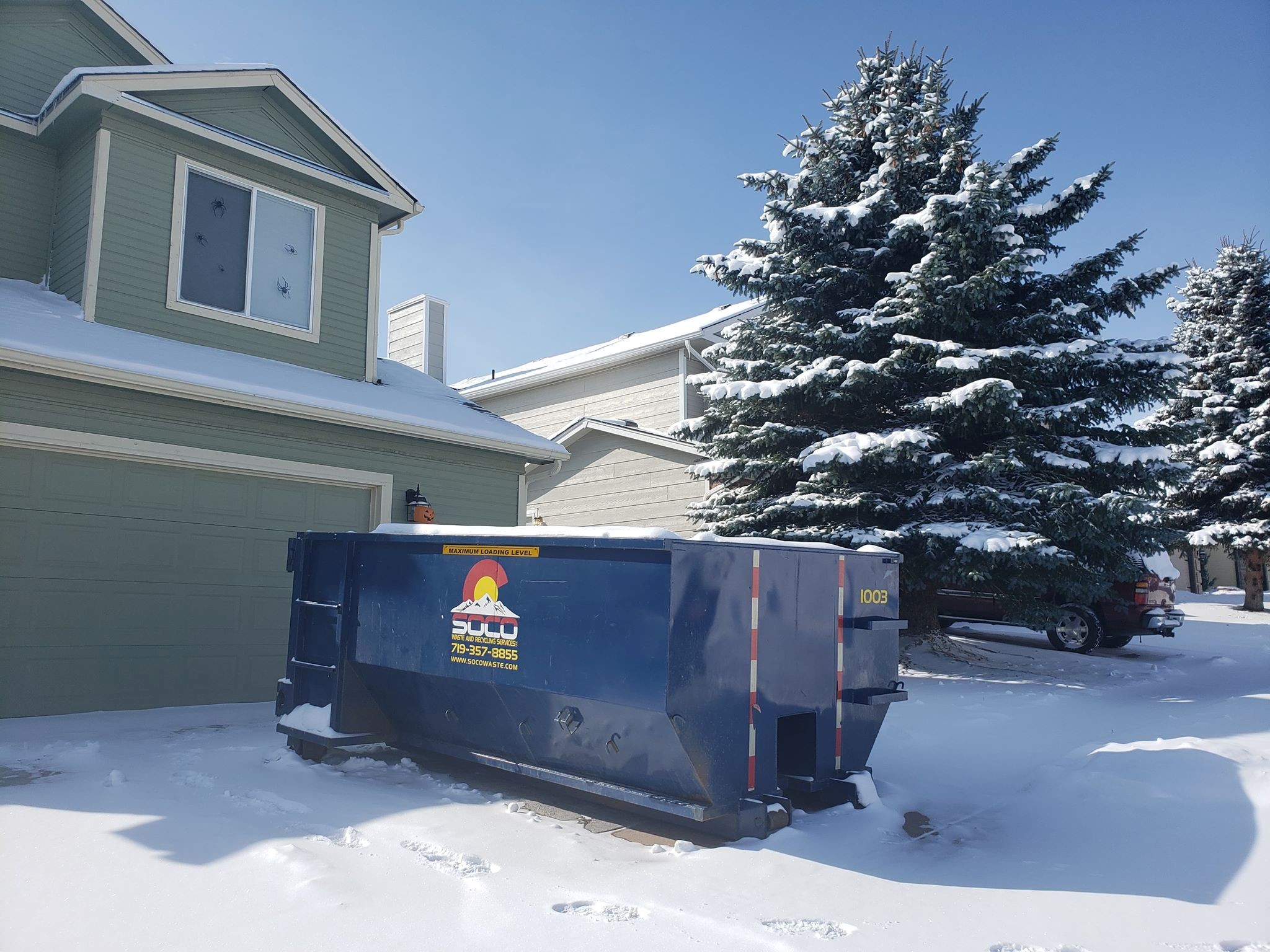 10 Yard Roll Off Dumpster Rental Price In Colorado Springs Co Soco Waste